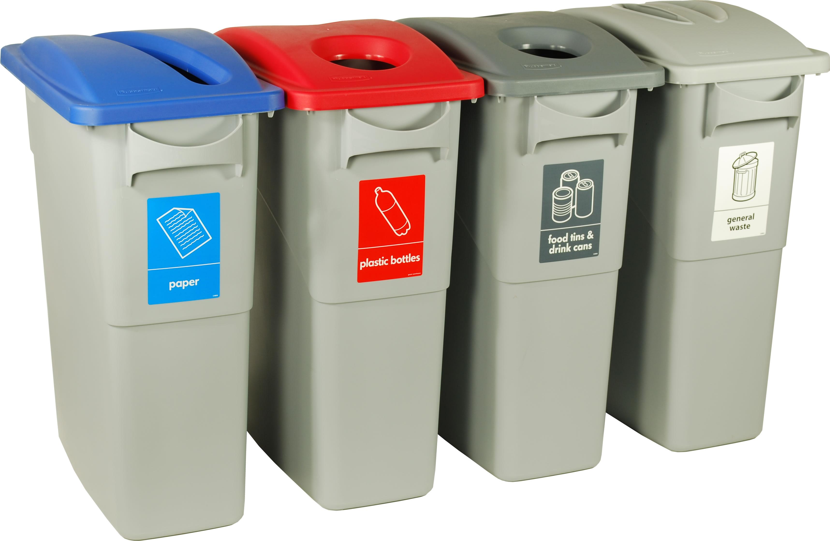 Coloured Kitchen Waste Bins Uk