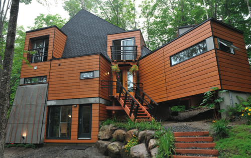 Affordable Shipping Container House in Quebec