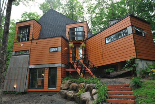 Affordable shipping container house in quebec eco talk for Container maison quebec