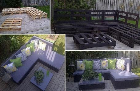 Upcycling Garden Furniture
