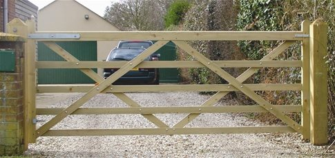 How to Hang a Garden Gate