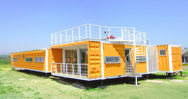The Environmental Benefits of a Shipping Container Home