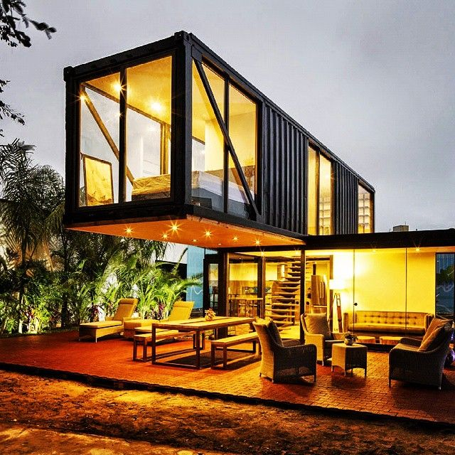 Wallet or environment friendly container homes says both eco talk - Building shipping container homes ...